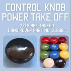 Control Knob PTO 218050
