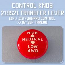 Forward Control Transfer lever knob 219521