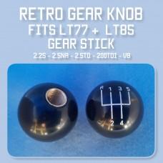 "Gear Knob LT77 retro 1 3/4"" dia"