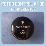 Control Knob roamerdrive Over Drive 3/8 UNC