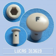 Pull Switch Knob F 313619 cream