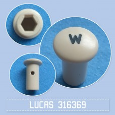 Pull Switch Knob W 316369 cream