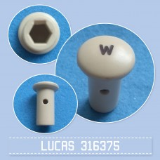 Switch Knob 316375 W cream