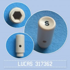 Push Switch Knob S 317362 cream