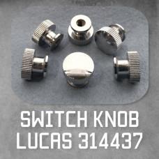 Switch Knob 314437 Chrome plated